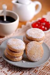biscotti algerini con zuchero a velo - ricetta siciliana