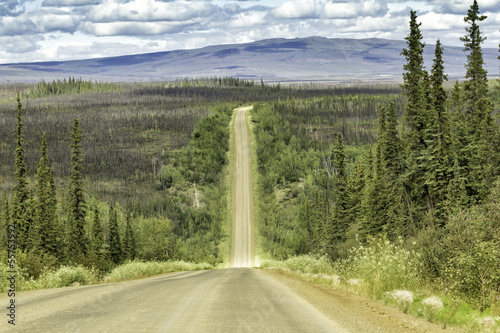 Dalton Highway in Alaska