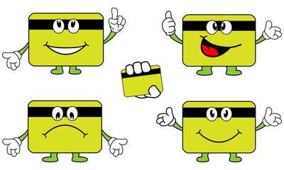 Mascote em formato de Cartão Magnético