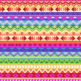 multicolored aztect stripe ~ seamless background