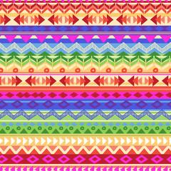 multicolored aztect stripe ~ seamless background