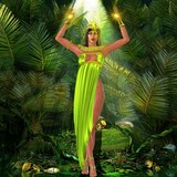 Earth Goddess in forest