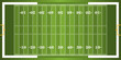 Textured Grass American Football Field - 55757786