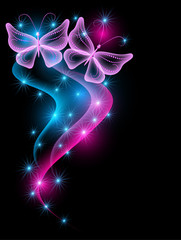 Smoke and butterflies