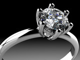 Diamonds ring - 55760911