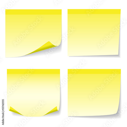 Yelow sheet of paper