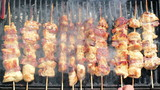 Grilled Gourmand Chicken Skewers