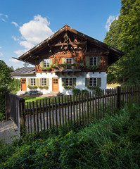 Country house in alpine village
