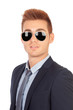 Stylish businessman with sunglasses