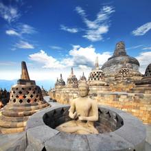 Indonésie (Java) - Candi Borobudur