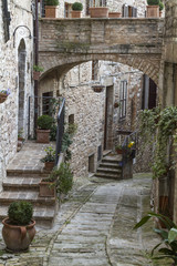 Gasse in Spello