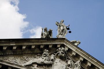 Deutschland, Bayern, München, Justizpalast
