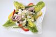Griechischer Salat mit Käse