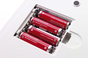 Tischrechner, Batterien