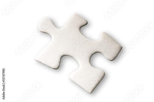 Puzzle Stück, erhöhte Ansicht