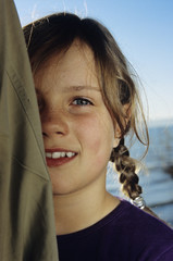 Mädchen, Portrait