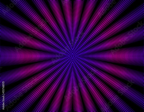Beautiful purple pink  rays abstract interference pattern