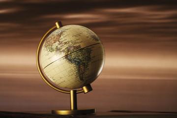 Globus, Nahaufnahme