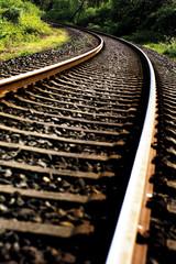Bahngleise, Nahaufnahme