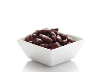 Kidney-Bohnen in Schüssel