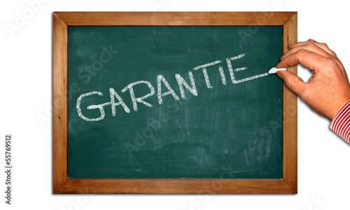 Kreidetafel II - Garantie