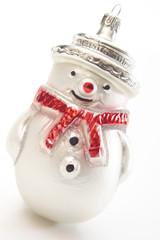 Schneemann, Weihnachten, Ornament, Nahaufnahme