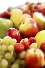 Frisches Obst, Nahaufnahme