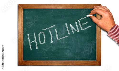 Kreidetafel II - Hotline