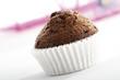 Schokoladen-Muffins, Nahaufnahme