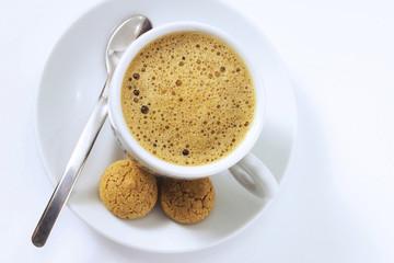 Espresso und Amarettini
