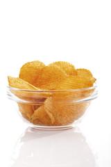 Kartoffel Chili-Chips