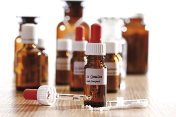 Homöopathische Mittel, Nahaufnahme