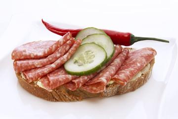 Salami Brot
