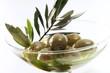 Schale Oliven, Nahaufnahme