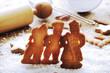 traditionelle würzige Weihnachtsplätzchen