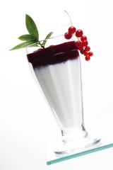 Red Strom und Joghurt Drink