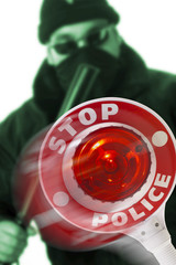 Stop - Polizei
