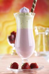 Erdbeer Vanille-Mousse
