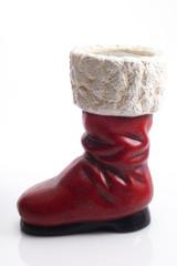 Weihnachtsmann, Stiefel, Nahaufnahme