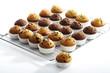 Muffins auf Stützgitter zum Abkühlen