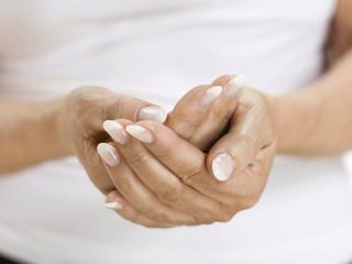 Hände einer Frau, Nahaufnahme