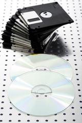 Disketten und CD `s