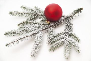Weihnachtsdekoration, erhöhte Ansicht