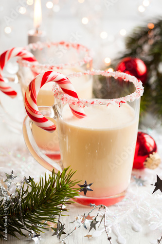 Creamy Peppermint Punch