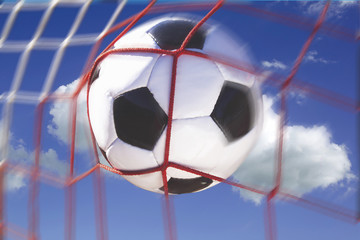 Fußball trifftins Tor