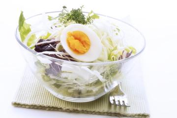Gemischter Salat mit Ei