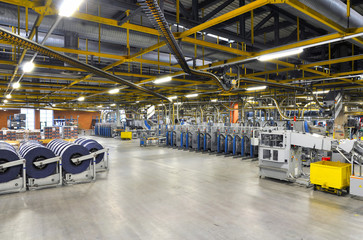industrial factory inside