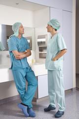 Chirurgen diskutieren