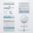 User interface design elements template kit. For Adaptive apps