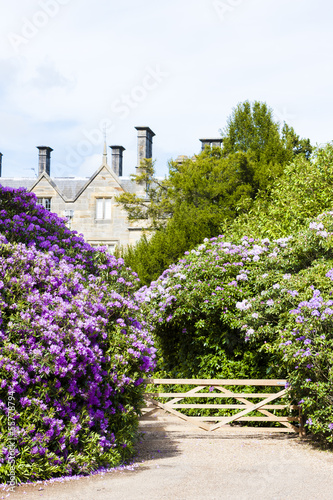 Scotney Castle with garden, Kent, England